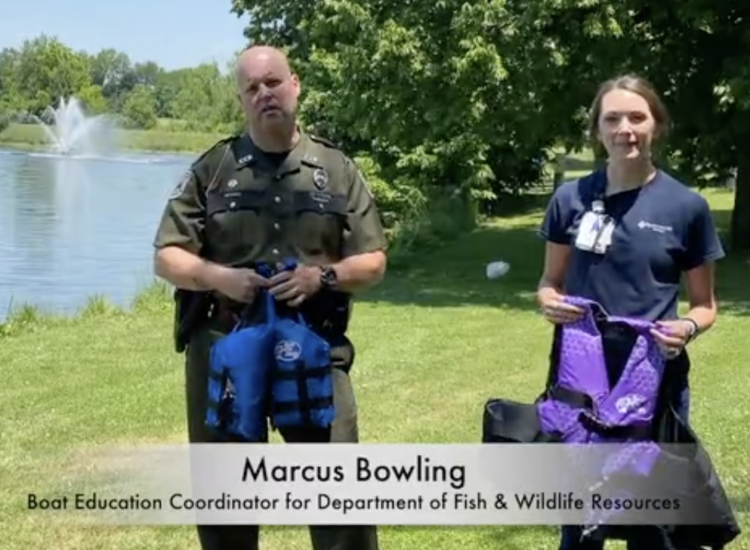 Marcus Bowling shares important water safety tips.